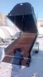 Прицеп ЛАВ-81012А с  крышкой Jaxal черный и белый цвет 81012A 6