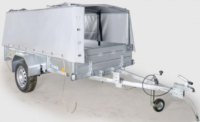 Прицеп  ЛАВ-81011А с тентом