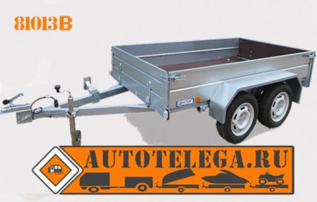 Прицеп легковой двухосный ЛАВ 81013В (кузов 2500х1400)