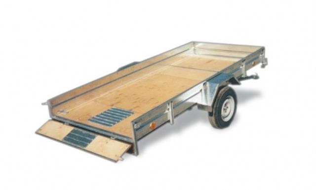 Прицеп ЛАВ-81012 для перевозки грузов и техники