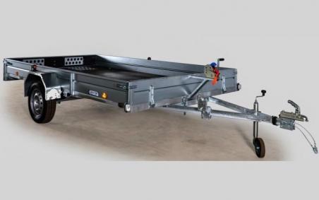 Кронштейн с лебедкой для грузового прицепа