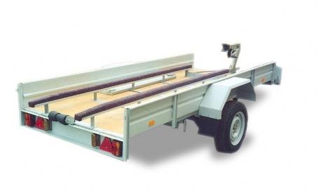 Прицеп ЛАВ-81012А платформа