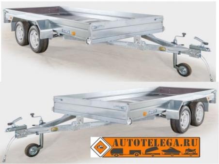 Прицеп ЛАВ-81013 для перевозки грузов и техники (кузов 3500х1500)